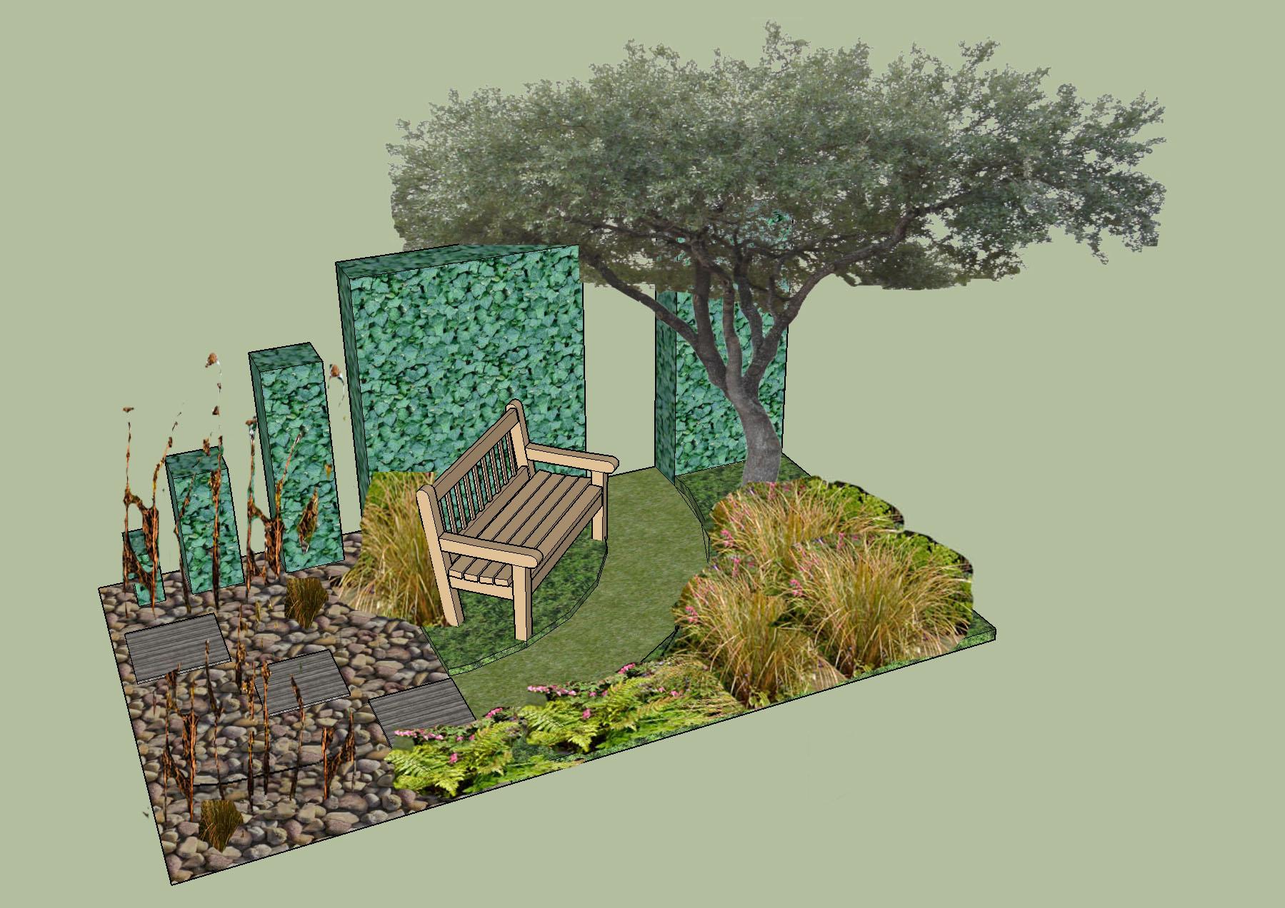 Rhs spring festival festival gardens application for Garden design fest 2014